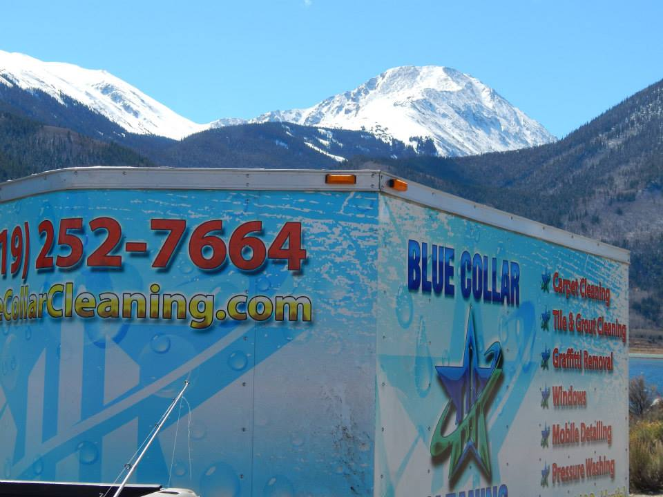 BCC's Trailer in the Mountains