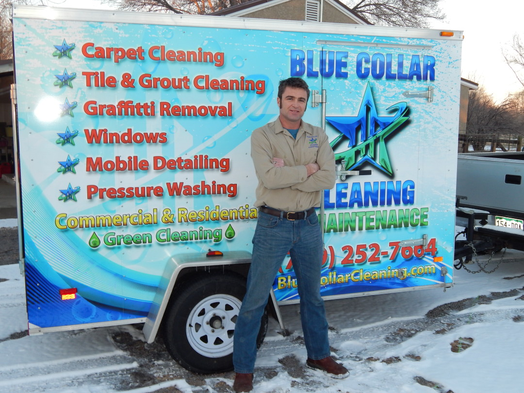 Blue Collar Cleaning is Licensed and Bonded