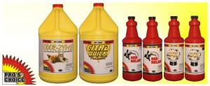 Pros Choice Fearsome Foursome carpet cleaning products